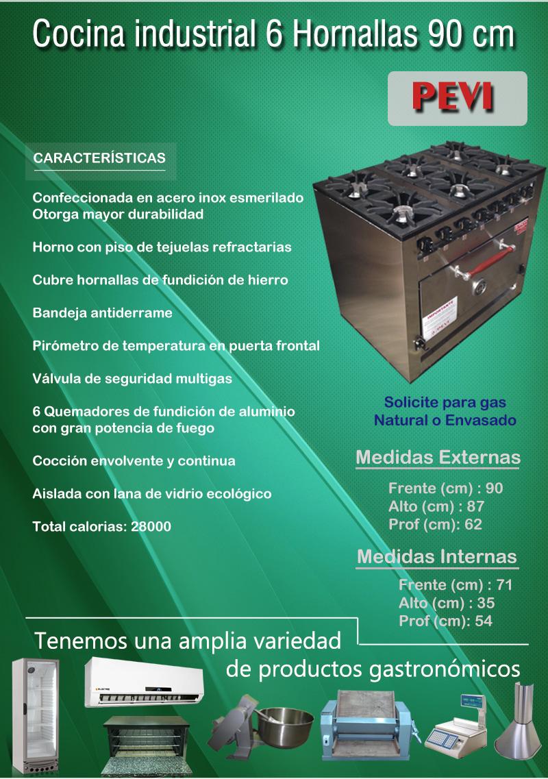 El aviso ha expirado 692080591 precio d argentina for Costo cocina industrial